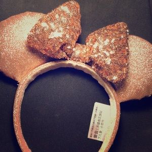 Disney rose gold headband